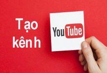 tạo tài khoản youtube