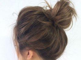 các kiểu búi tóc hiện đại